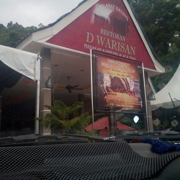 Photo taken at Restoran D'Warisan by Marissa A. on 7/4/2017