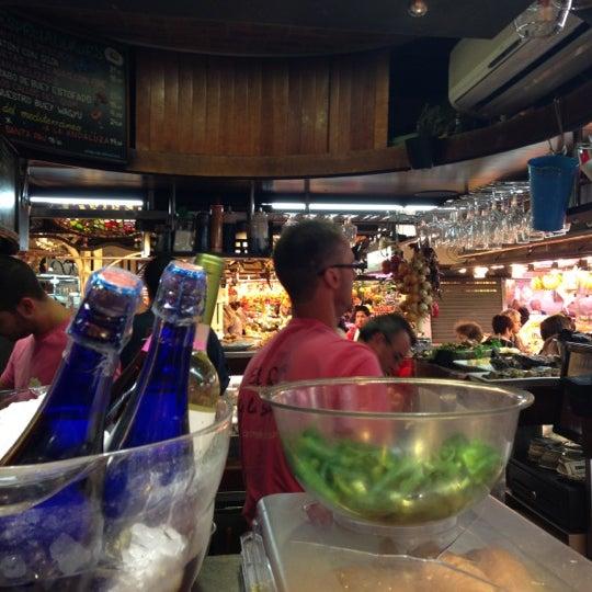 Foto tomada en El Quim de la Boqueria por Anthony J. el 11/9/2012