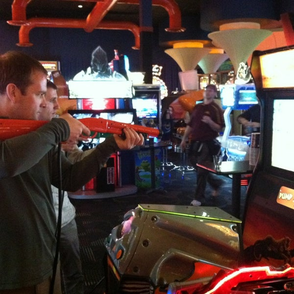 Photo taken at Dave & Buster's by Garrett W. on 4/8/2013