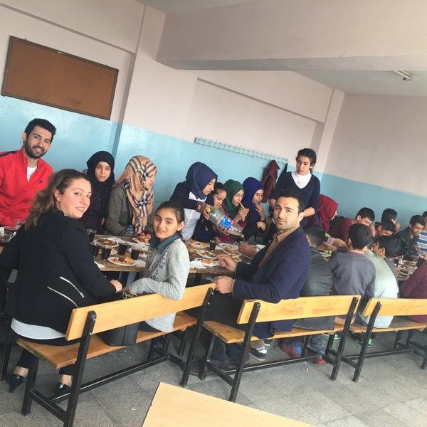 Photo taken at Mustafa Vedat Mutlu Ortaokulu by Ömer Tuncer S. on 3/29/2017