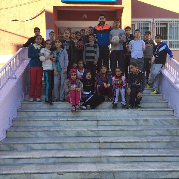 Photo taken at Mustafa Vedat Mutlu Ortaokulu by Ömer Tuncer S. on 11/24/2015