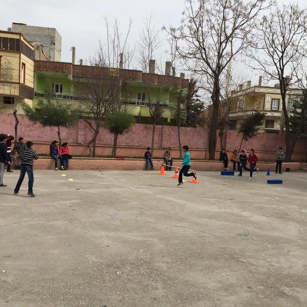 Photo taken at Mustafa Vedat Mutlu Ortaokulu by Ömer Tuncer S. on 2/27/2016