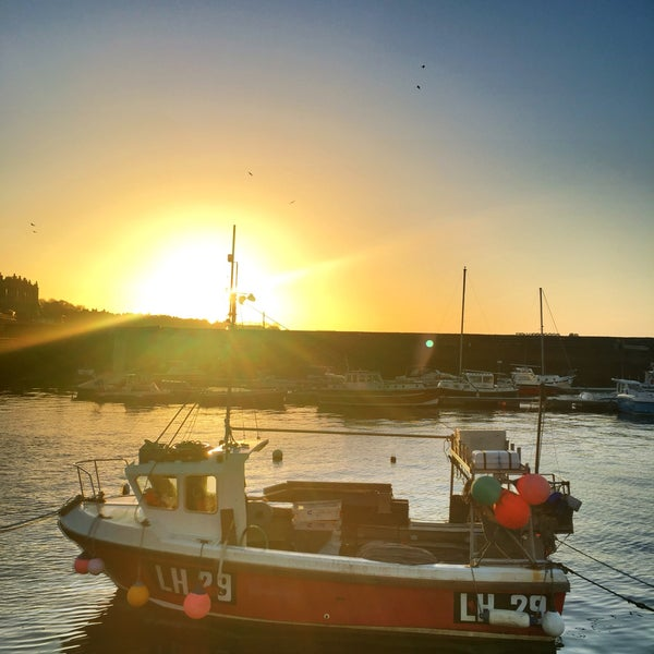 Photo taken at Newhaven Harbour by Ewan M. on 3/12/2017