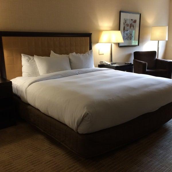 Photo taken at The Saratoga Hilton by Eric C. on 7/7/2014
