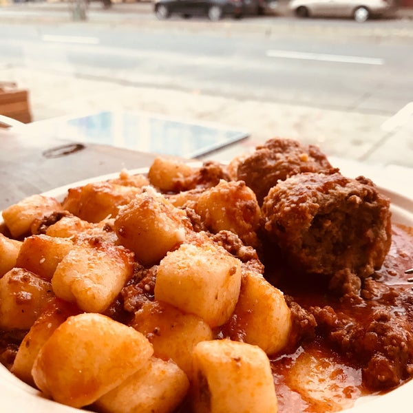 I had the Gnocchi with meat sauce and meatballs. Tasted fantastic. Can't wait to go back and try everything else!
