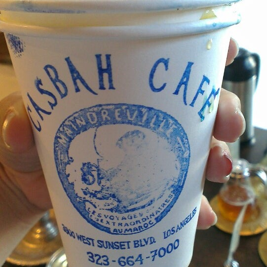 Photo taken at Casbah Café by Madie B. on 6/18/2014