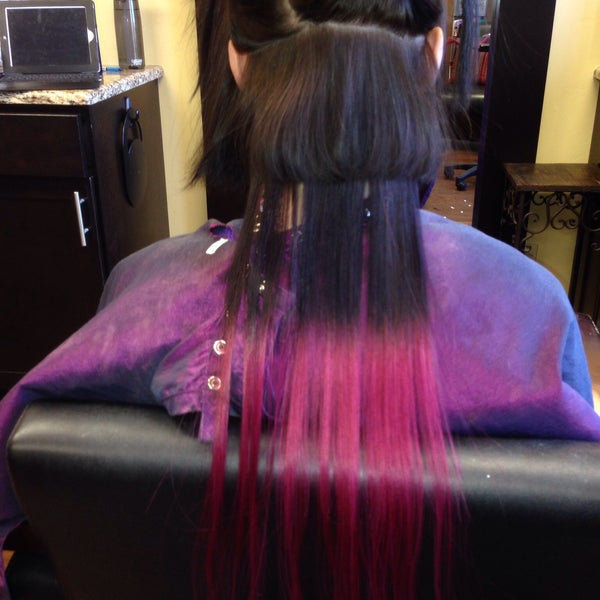 Photos At Pactrics Color Room Hair Extensions Denver 1 Tip