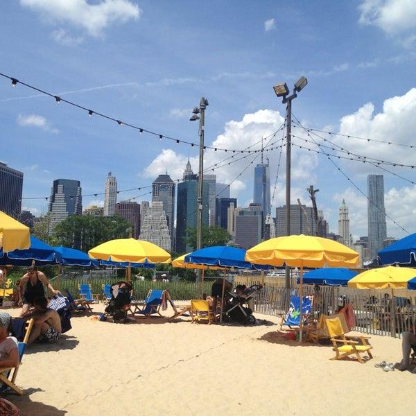Brooklyn Bridge Park Pop Up Pool Now Closed Brooklyn