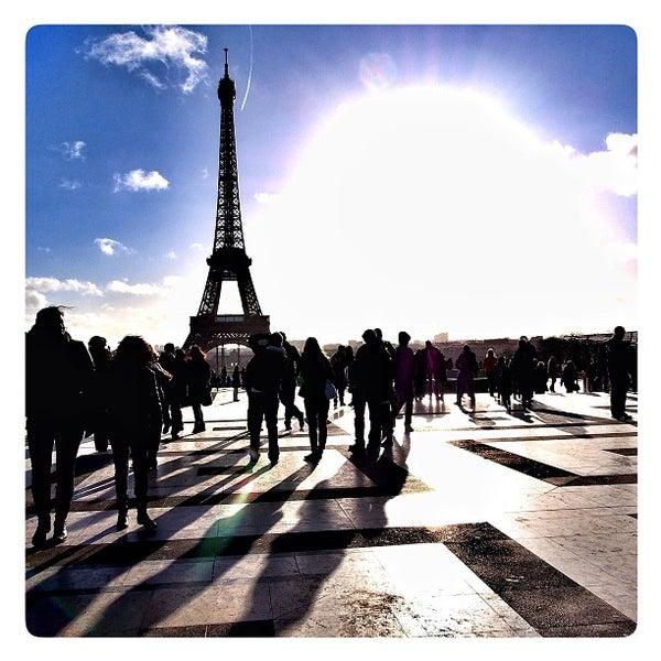 Photo prise au Place du Trocadéro par Didier L. le12/30/2012