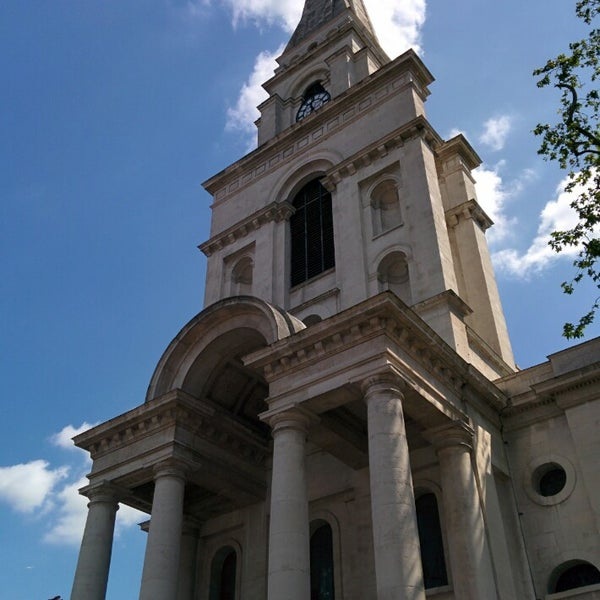 Photo taken at Christ Church by Eric R. on 6/21/2014