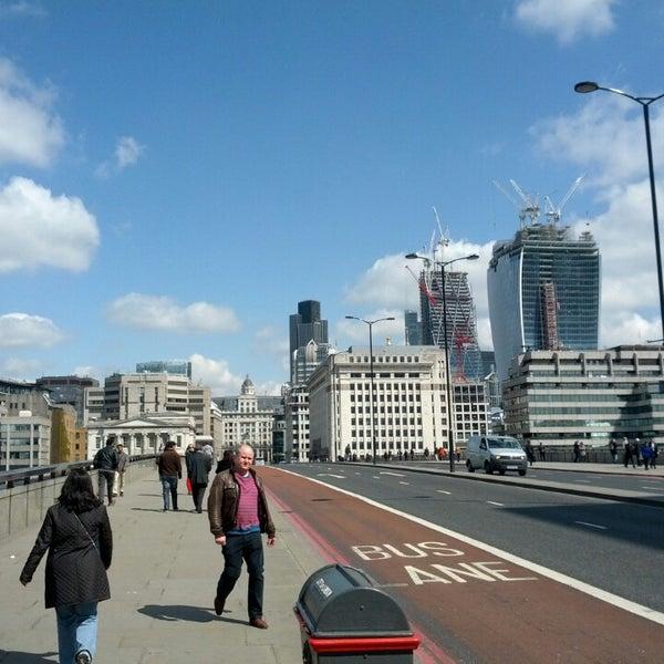 Photo taken at London Bridge by Eric R. on 4/30/2013