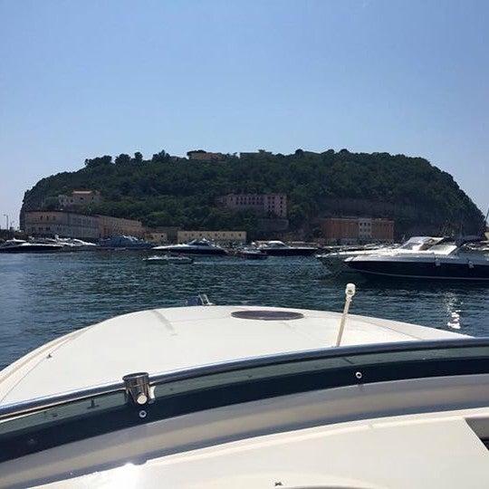 Photo taken at Isola di Nisida - Nisida Island by Procolo G. on 7/12/2015