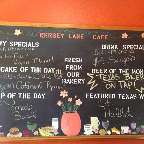 Kerbey Lane Cafe Breakfast Menu