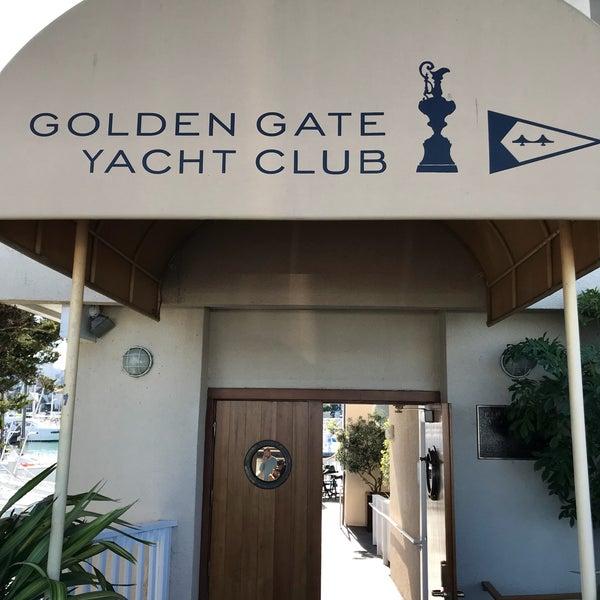 Photo taken at Golden Gate Yacht Club by Ellen H. on 2/3/2018