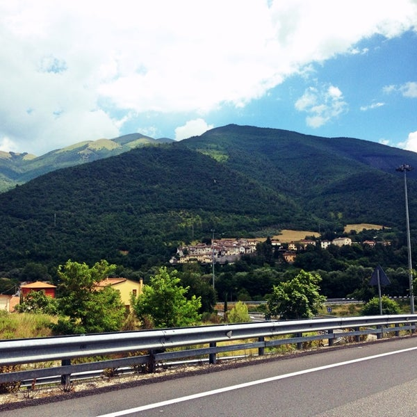 Photo taken at Norcia by Francesco S. on 7/16/2014