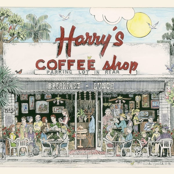 Photo taken at Harry's Coffee Shop by Harry's Coffee Shop on 3/20/2014