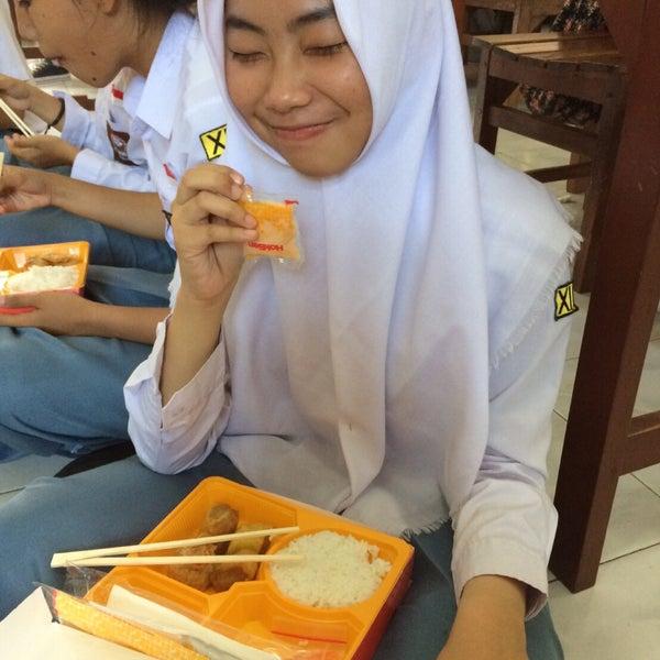 Photo taken at SMA Negeri 4 Semarang by yp l. on 9/27/2016