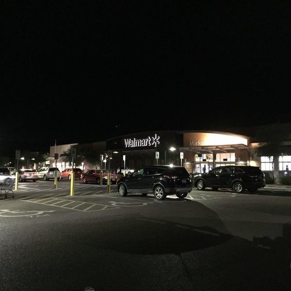 Walmart Supercenter Grocery Store In Cave Creek