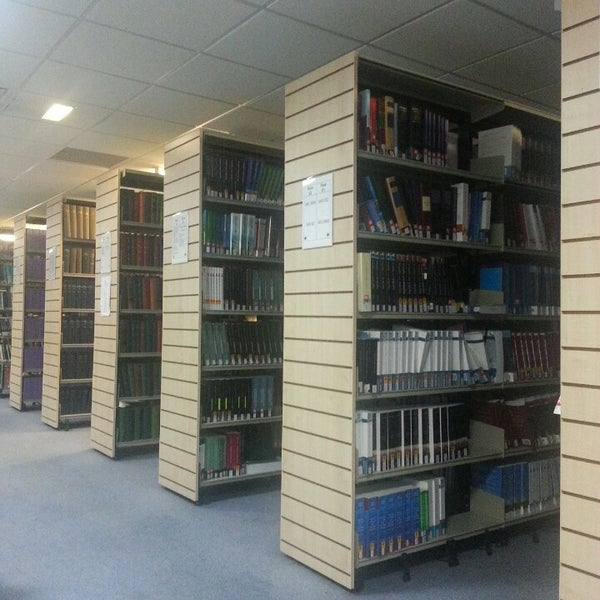 Photo taken at Northumbria University Library by Rhoda L. on 3/12/2013