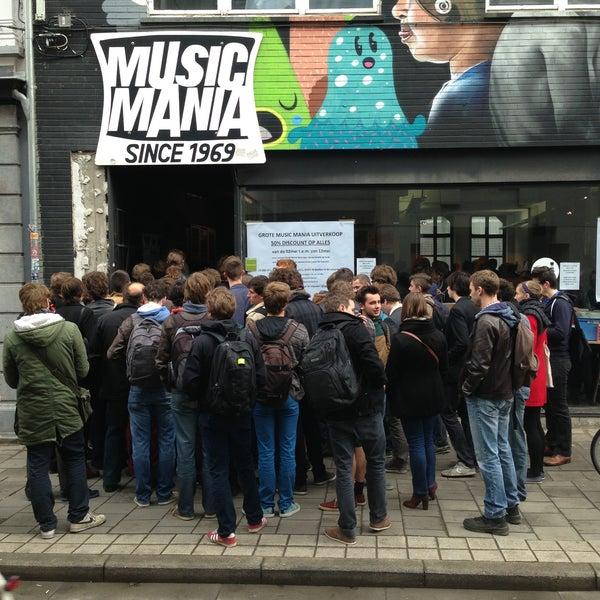 Photo taken at Music Mania by Aurélien on 5/2/2013