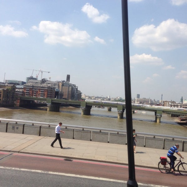 Photo taken at London Bridge by Traci on 7/17/2013