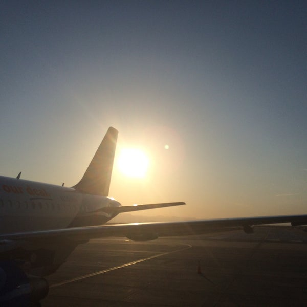 Photo taken at Phoenix-Mesa Gateway Airport (AZA) by Emily W. on 6/25/2015