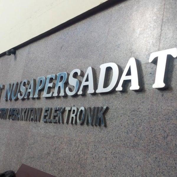 Foto diambil di PT Sat Nusapersada Tbk oleh Miftahul R. pada 6/3/2016