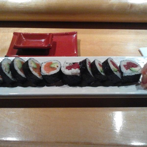 Photo taken at Oishi Sushi by Lyze A. on 4/15/2014