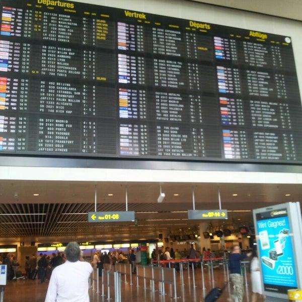 Снимок сделан в Брюссельский аэропорт (BRU) пользователем Jasper D. 9/2/2013