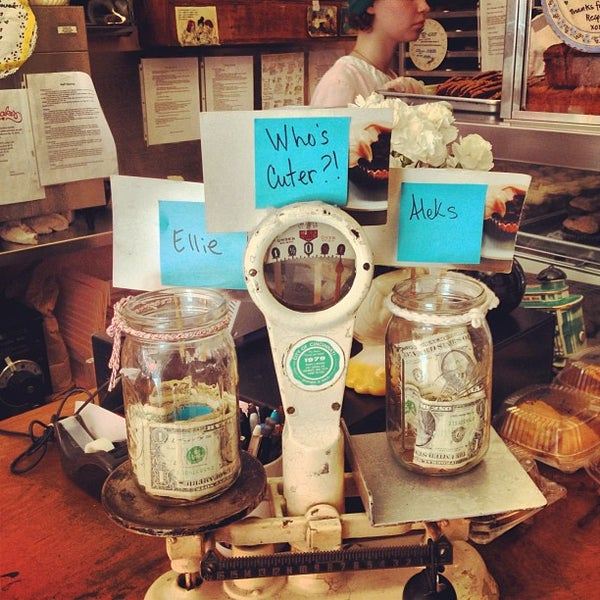 Photo taken at Erin McKenna's Bakery by shea on 5/4/2013