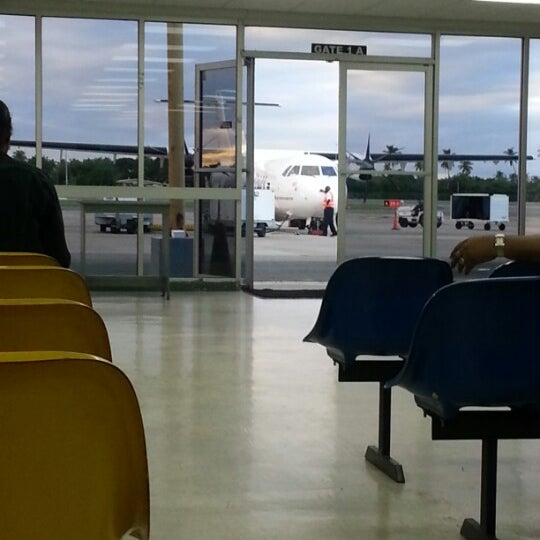 Photo taken at A.N.R. Robinson International Airport (TAB) by Kerry W. on 12/3/2012