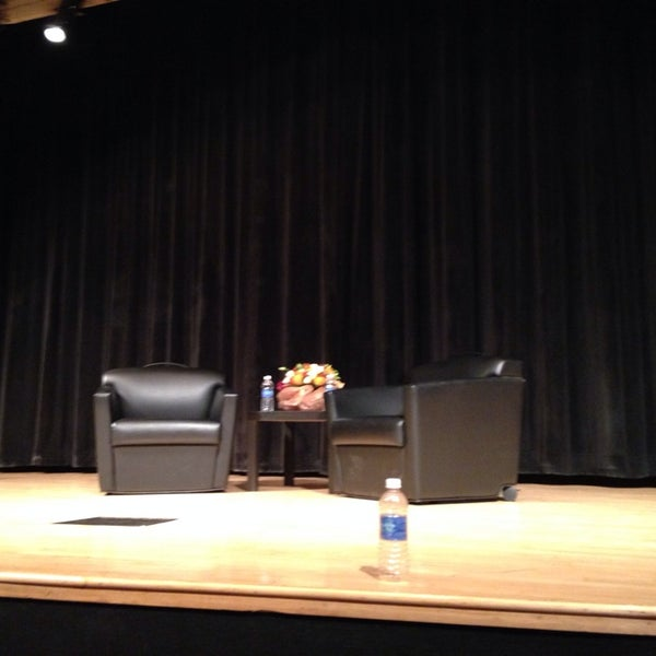 Photo taken at The New School Auditorium at 66W 12th by Christopher E. on 11/5/2013