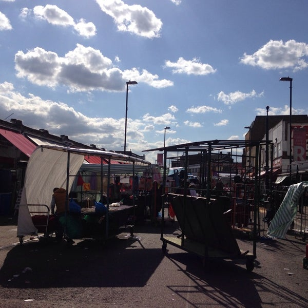 Photo taken at Ridley Road Market by Sophie T. on 6/5/2014