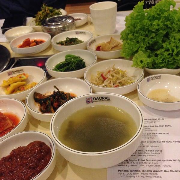 Photo taken at Daorae Korean BBQ Restaurant by RB R. on 11/6/2014