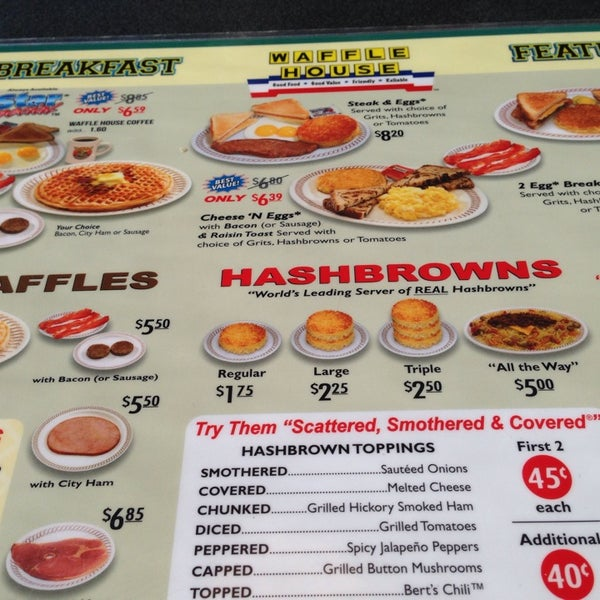 Photo taken at Waffle House by Sharon S. on 4/20/2014