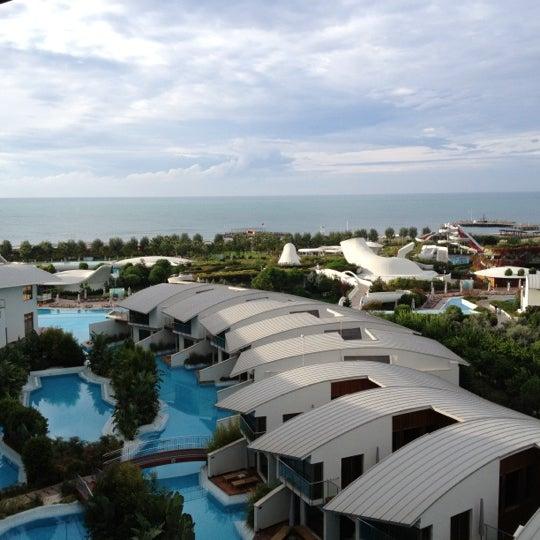 10/25/2012 tarihinde bahadir o.ziyaretçi tarafından Cornelia Diamond Golf Resort & Spa'de çekilen fotoğraf