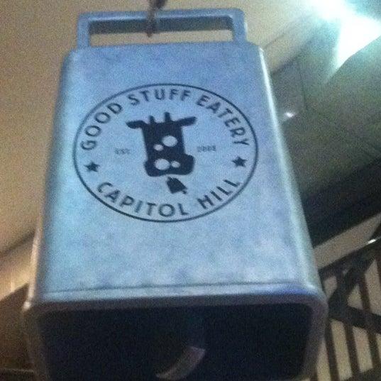 Das Foto wurde bei Good Stuff Eatery von Justin am 7/19/2012 aufgenommen