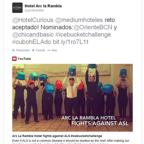 Foto tomada en Hotel Arc La Rambla por emarketing a. el 9/26/2014