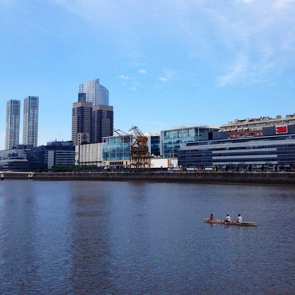 Photo taken at Puerto Madero by Daniel C. on 11/3/2012