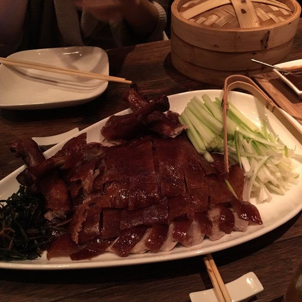 The Peking Duck is actually really good even in the standard of a Beijing local, aka. me, who had hundreds of roasted ducks in Beijing. The portion is like 3 to 4 entries.