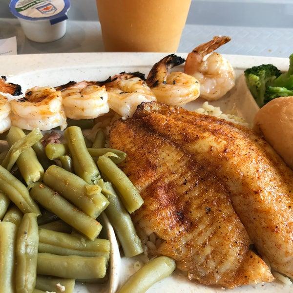 Captain D S Seafood Kitchen Menu