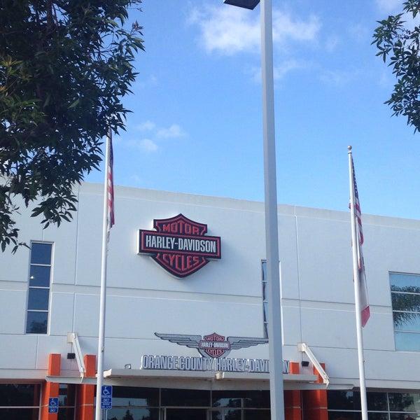 Photo taken at Orange County Harley-Davidson by Brittany C. on 7/10/2015