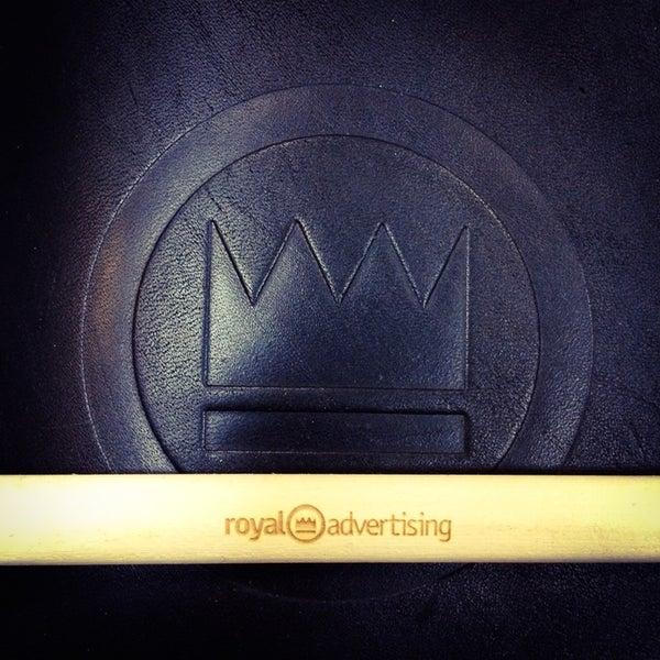 Photo taken at Royal © Advertising by Роман Д. on 4/29/2014