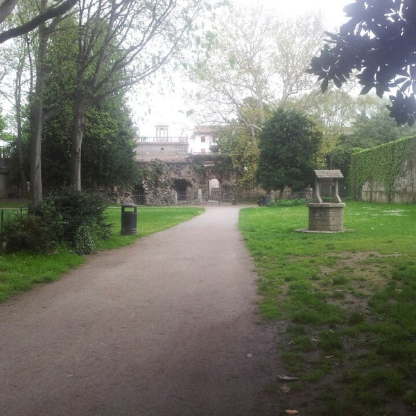 Photo taken at Villa Visconti Borromeo Litta by Lorenzo P. on 5/1/2013