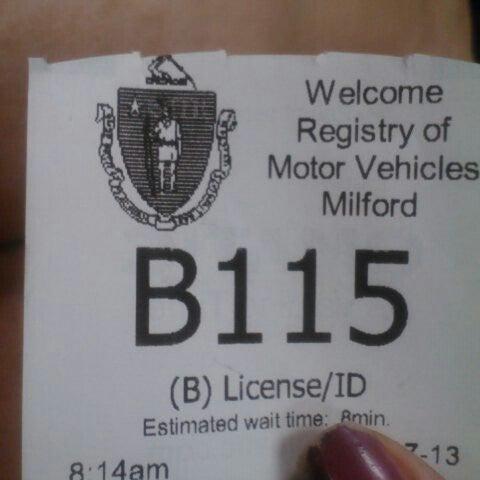 Fotos bei registry of motor vehicles milford ma for Massachusetts registry of motor