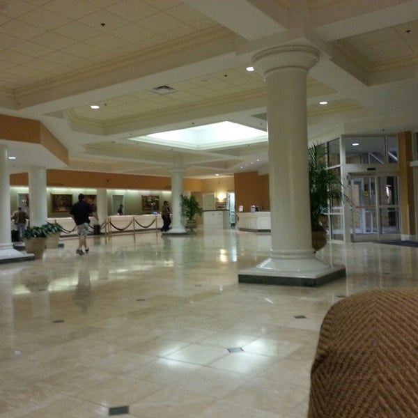 Photo taken at Rosen Plaza Hotel by James S. on 3/1/2013