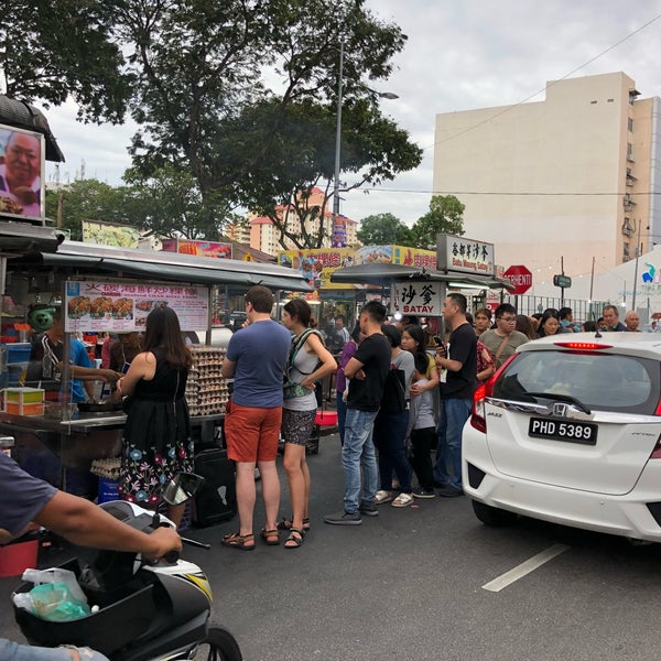 Photo taken at New Lane Hawker Stalls by Cy L. on 7/14/2018