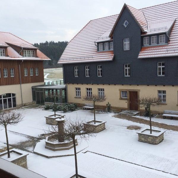 Photo taken at Lindner Spa & Golf Hotel Weimarer Land by Gunther S. on 1/3/2016