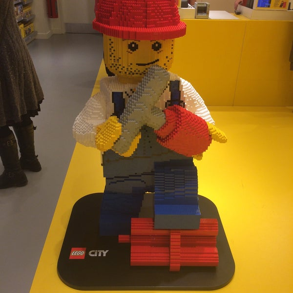 Photo taken at LEGO Store by Troy L. on 3/21/2015