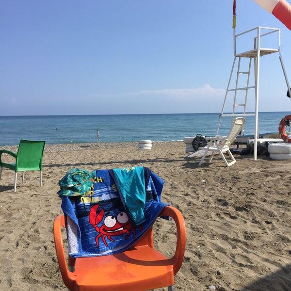 9/7/2018 tarihinde TC Ayşe T.ziyaretçi tarafından Ünlüselek Beach'de çekilen fotoğraf
